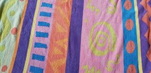 Colorful Beach Towel With Vari...