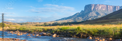 Stampa su Tela Mount Roraima banner web, Venezuela, South America.