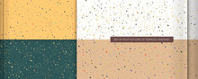 Set Of Four Color Textures In ...