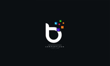Letter B Logo Design Icon Vect...