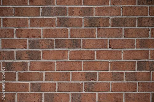 red brick texture close