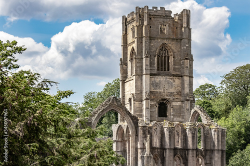 Fountains Abbey and Studley Royal World Heritage Site Canvas Print