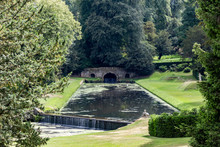 Water Gardens Of Fountains Abbey And Studley Royal