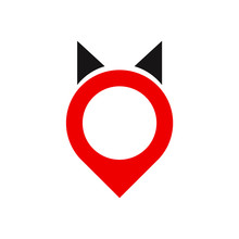 Red Cat Icon
