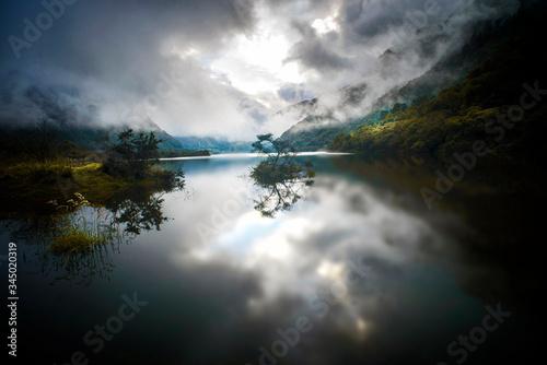 Photo Lago Papallacta Ecuador