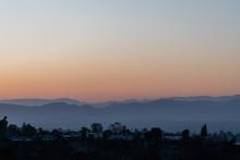 Scenic Aerial San Fernando Val...
