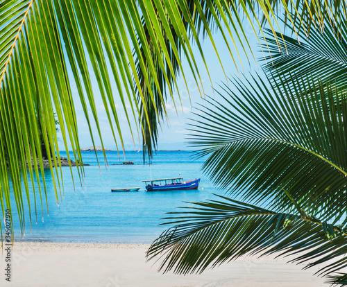 Beaches of Santa Catalina, Panama, Central America - 345027910