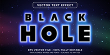 Editable Text Effect - Black H...