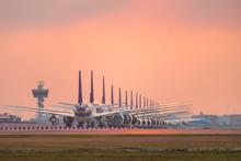 Aircraft Parking At Airport Ru...