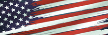 Patriotic Background For Memorial Day, Veteran's Day, Martin Luther King Day And Columbus Day