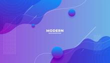 Modern Vibrant Fluid Gradient ...
