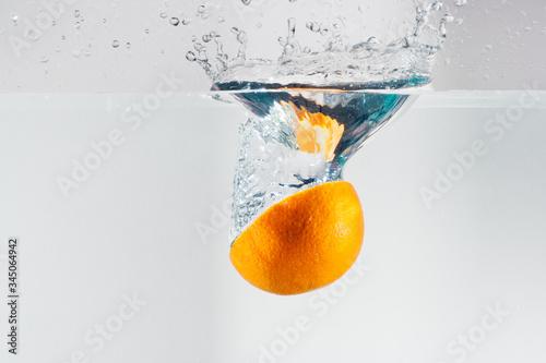 Fototapeta C vitamins. Orange - Lemon - Kiwi Abstract studies vitamin c obraz