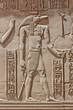 canvas print picture - Hieroglyphic carvings on an ancient egyptian temple wall