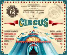 Circus Performance Announcemen...
