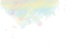 Watercolor Cover Background.