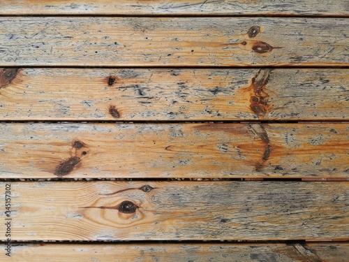 Obraz Stary drewniany stół - fototapety do salonu