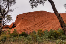 Sedimentary Outcrops At The Fo...