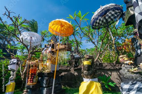 Leinwand Poster Shrine Legian Beach Bali Indonesia