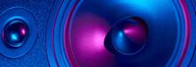 Sound Audio Speaker With Neon ...