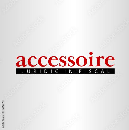 Photo logo accessorie