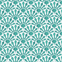 Abstract Turquoise Pattern In ...