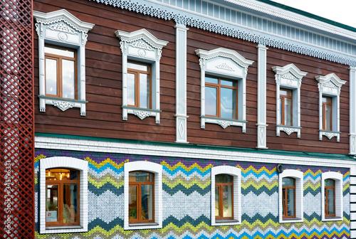 Photo Historical wooden house in Irkutsk, Russian Federation