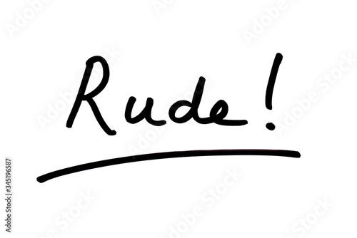 Canvastavla Rude!