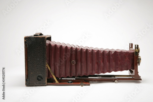 Cuadros en Lienzo Vintage large format view camera with bellows extended