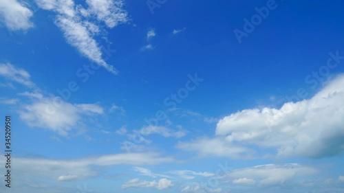 Fototapete - 青空 ノーマルスピード