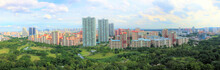 Panoramic View Of Bishan HDB Clover By The Park
