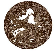Thai Naga Dragon Tattoo.Thai A...
