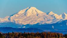Sunset Over Mount Baker, A Dor...