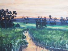 Watercolor Nature And Landscap...