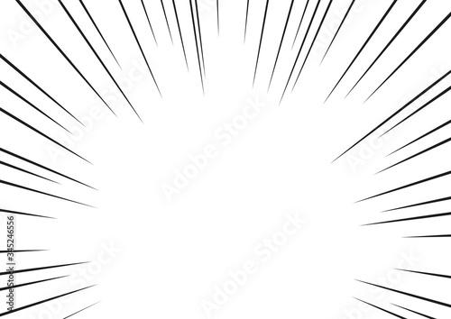 Fototapeta 集中線 obraz na płótnie