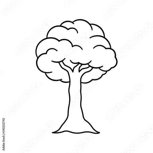 Cartoon Tree Outline Coloring Book Page Vector Art Illustration Design Buy This Stock Vector And Explore Similar Vectors At Adobe Stock Adobe Stock Embed this art into your website tress clip art. cartoon tree outline coloring book page