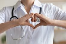 Female Doctor Cardiologist Wea...
