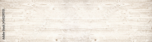 Obraz old white painted exfoliate rustic bright light shabby vintage wooden texture - wood background banner panorama  - fototapety do salonu