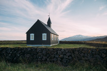 The Black Church Of Búðir On...