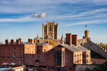 City Of Lincoln In England