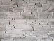 Ściana kamień ozdobny szary