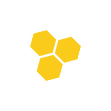 Honeycomb Icon Vector Illustra...
