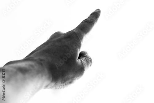 Cuadros en Lienzo montrer du doigt