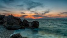 Rhodes Kato Petres Beach Sunse...