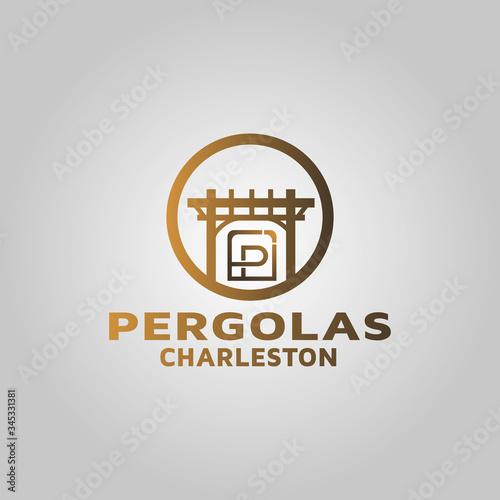 Fotografia Luxury pergola logo design inspiration