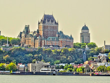 Quebec City And The St Lawrenc...