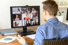 Virtual Conference With Employ...