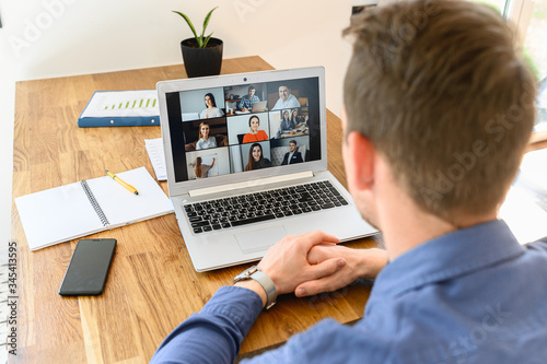 Photo Webinars, online conference, video meeting