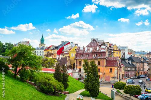 Obraz Beatiful panorama of city Lublin, Poland, Europe - fototapety do salonu