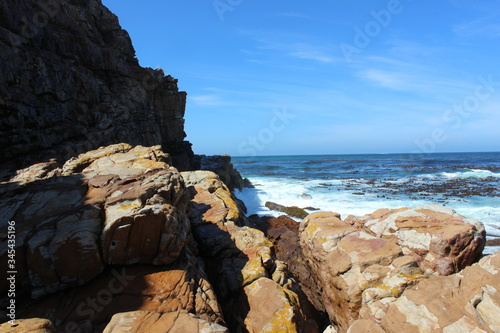 Cape Town tourism , cape of good hope alone Atlantic ocean Canvas-taulu