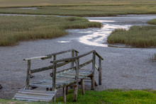 An Old Wooden Jetty Onto The E...